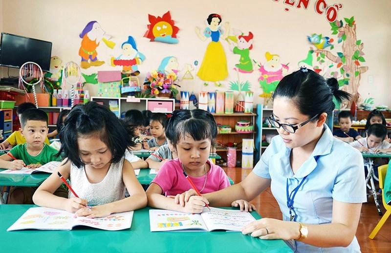 Tuyển sinh lớp trung cấp sư phạm mầm non tại Đà Nẵng