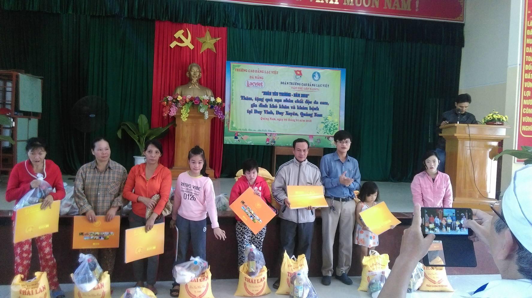 Đoàn Trường Cao đẳng Lạc Việt - Xuân yêu thương 2018