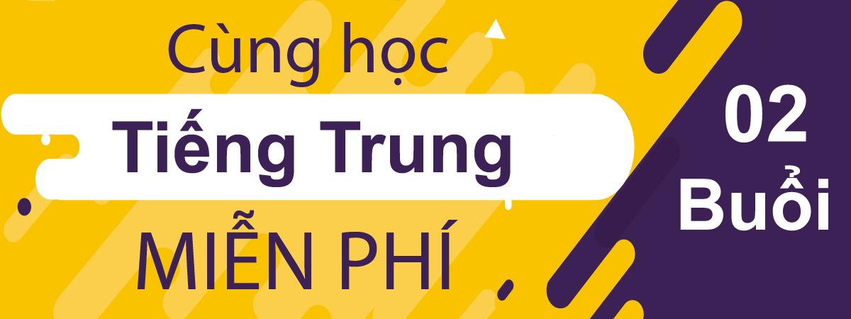 Học tiếng Trung miễn phí tại Đà Nẵng