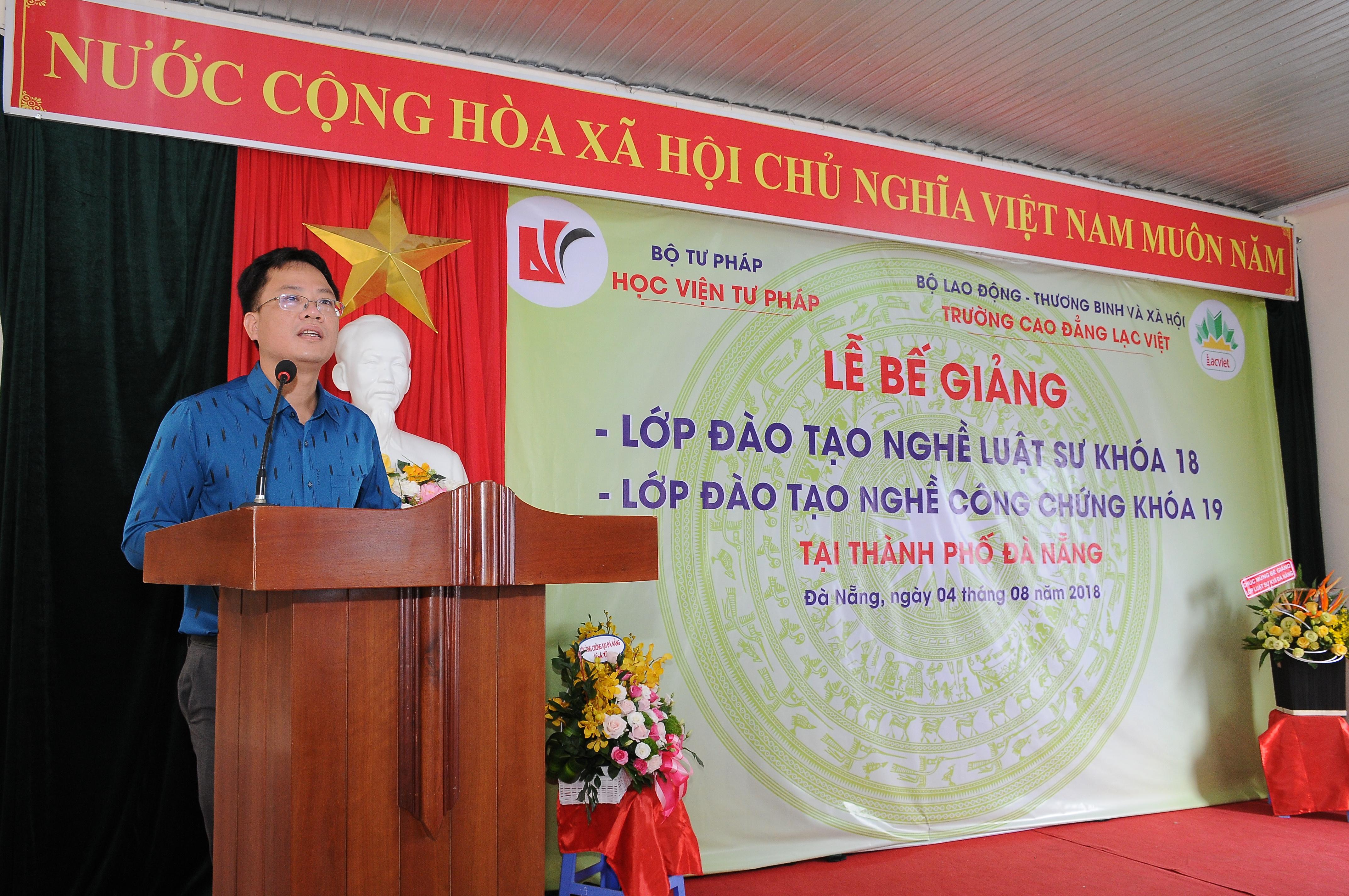 Bế giảng Lớp đào tạo nghề Luật sư khóa 18 và nghề Công chứng khoá 19 tại thành phố Đà Nẵng