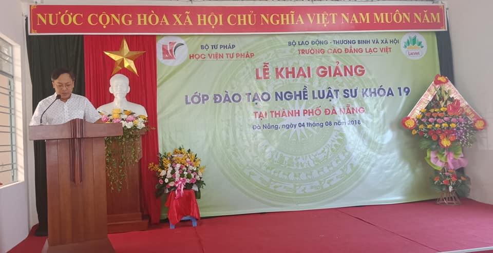 Khai giảng Lớp đào tạo nghề Luật sư khóa 19 tại thành phố Đà Nẵng
